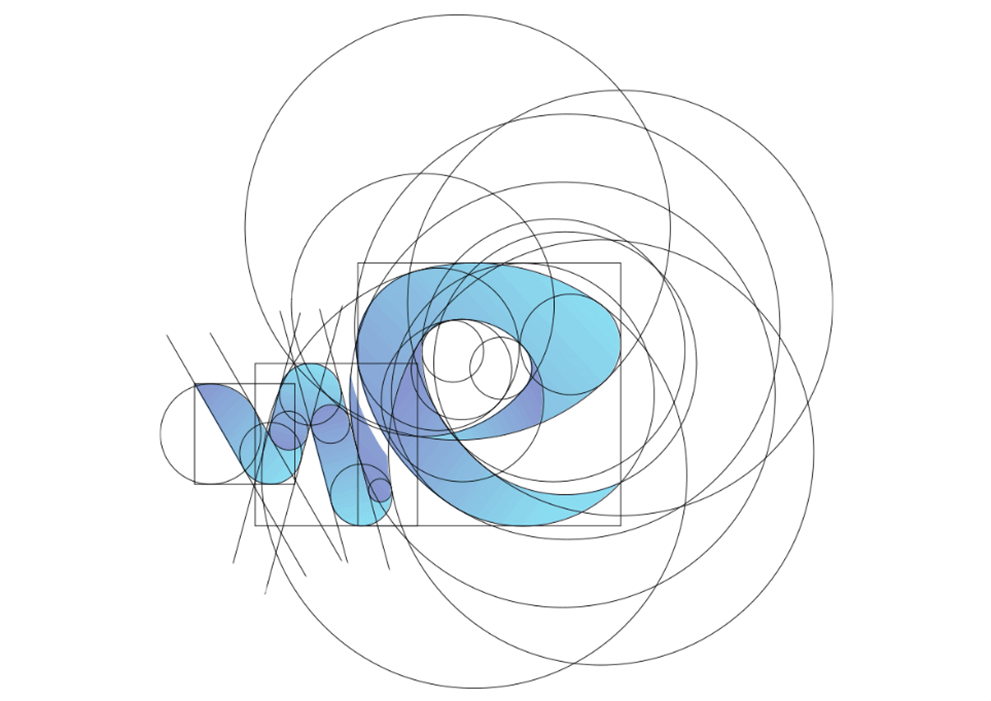 Wet Element Logo Golden Ratio