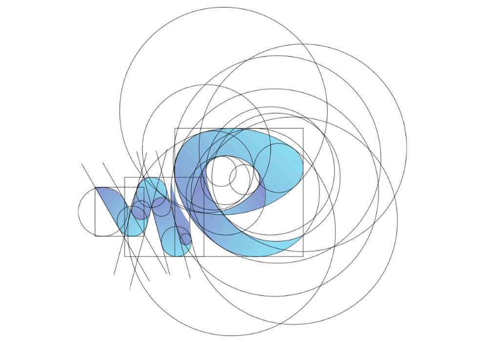 Wet Element Logo Golden Ratio