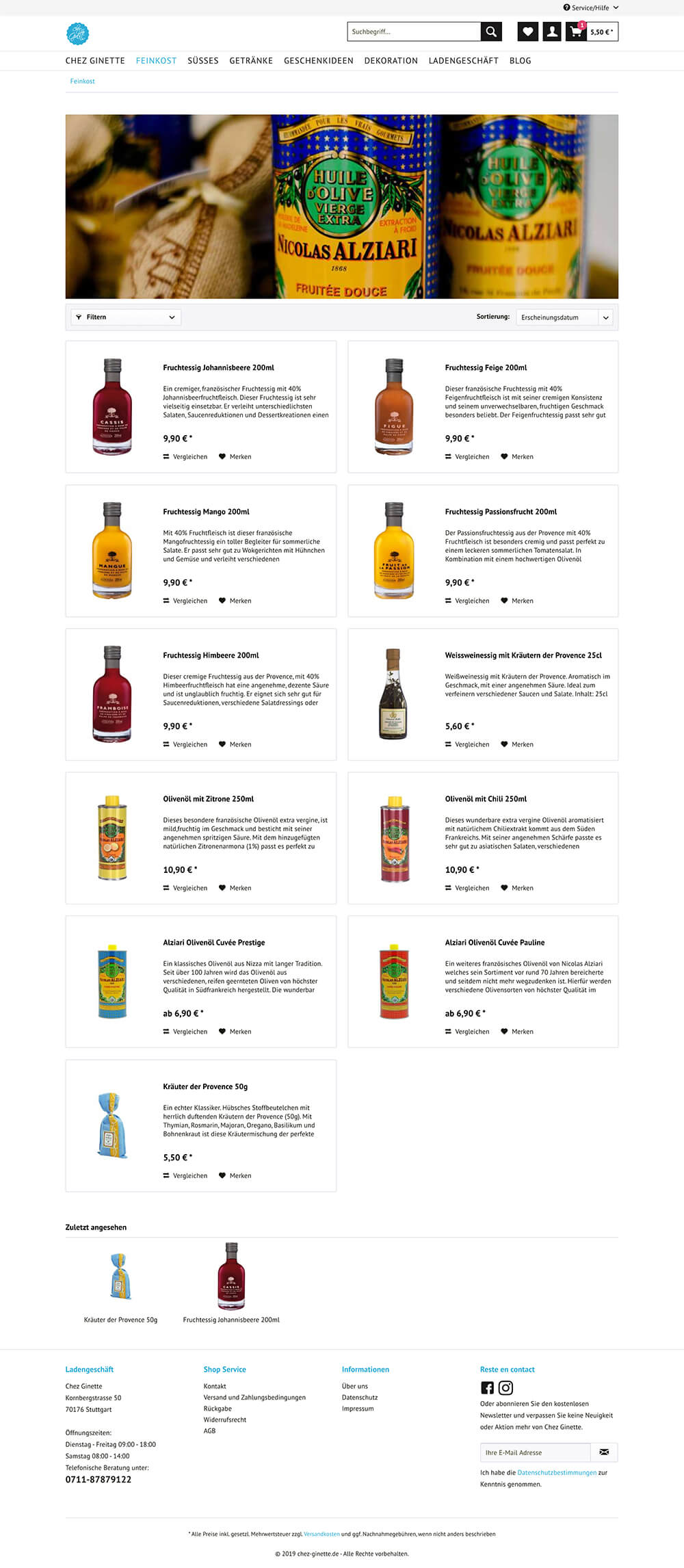 chez-ginette product-list