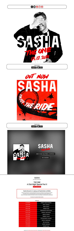 sasha old